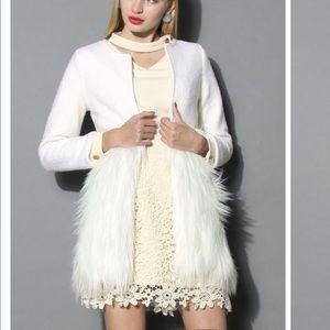 CHICWISH Faux Fur Coat - Medium - Never worn